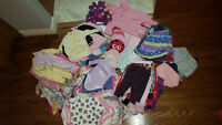 Baby girl 0-3 & 3-6 month lot 167 items for $60.00