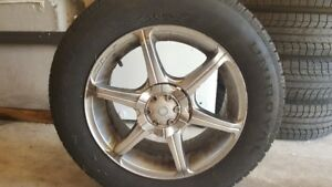 Tires with alloy/aluminium  rims  (205/65R16) - SOLD