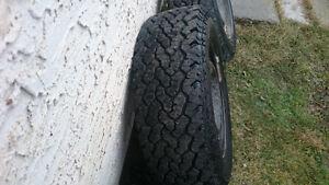 """4 AT2 16"""" Tires"""