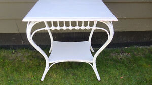 Vintage White Sturdy Table