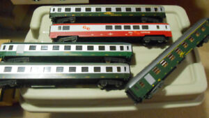 O scale model trains, Passengers car and all kind of accessories