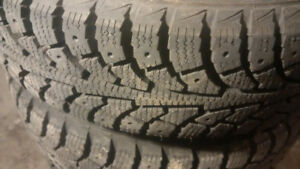 New Winter Tires & Rims 14 inch 175/65 R14 (Price Negotiable)