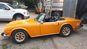 1976 TR6 for sale