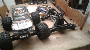 REDUCED**Savage x 4.6 RC WITH MANY EXTRAS!!!