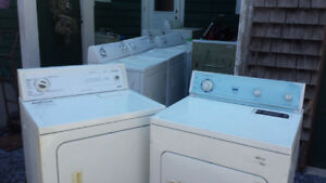 Free. I Pickup broken Washers and Dryers.