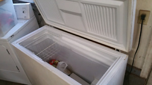 Large deep freezer. Works great.