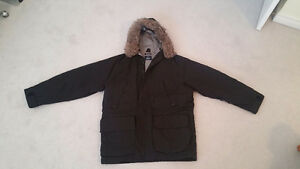 Gently Used Nautica Winter Parka Men's Large Black