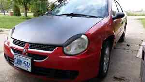 2004 dodge neon 140,000kms NEW tires and parts!