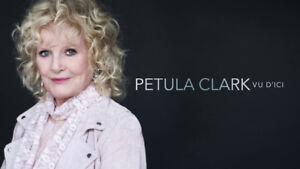 Petula Clark 2 billets parterre rangée AA 14 juin 2019