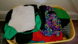 Big bin of plus size clothes