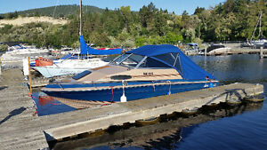 FOR SALE 1983 BLUEWATER CUDDY CABIN 19' WITH MOORAGE PYC