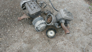 Rotax snowmobile engines for parts.