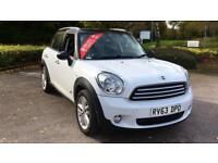 2013 Mini Countryman 1.6 Cooper D ALL4 5dr Manual Diesel Hatchback