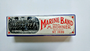 Marine Band No. 1896 Marine Band Harmonica (mint)