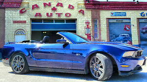 2010 Ford Mustang GT Convertible 29990 kms No Accidents