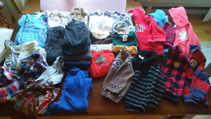 18-24 month fall / winter boys lot