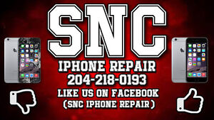 iPhone 6 Screen Repair   $70$  (WE COME TO YOU)