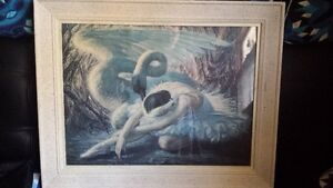 1949 Tretchikoff  'Dying Swan' Print