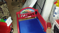 Cars Toddler Bed w/ Mattress. $40.00 Delivered in Moncton Area
