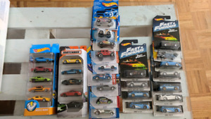 Lot hotwheels
