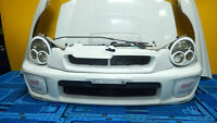 JDM SUBARU IMPREZA WRX FRONT END CONVERSION HEADLIGHT HOOD