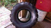 1 Set of 4 Radial ATV Tires for 12 inch rims