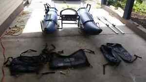 8' Pontoon Boat (Buck's Bags)