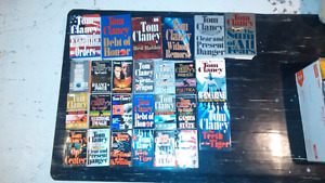 26 Tom Clancy books