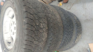 Goodyear Wrangler Truck Tires With Rims