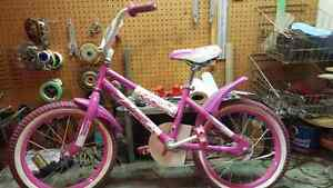 Girls bike 16""
