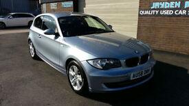 2008 BMW 118 2.0 TD DYNAMIC PACK SE TURBO DIESEL 3 DOOR 96000 MILES WITH FSH