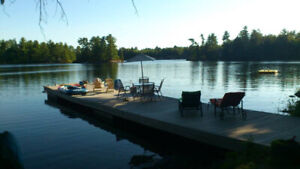 Muskoka Waterfront Cottage now available August 29-Sept 1
