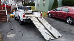 2010 Ford F-250 Superduty 4WD XLT Pickup Truck snowplow