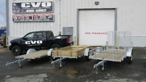 NEW-Custom made trailers for atv,utv, utility, car, equipment