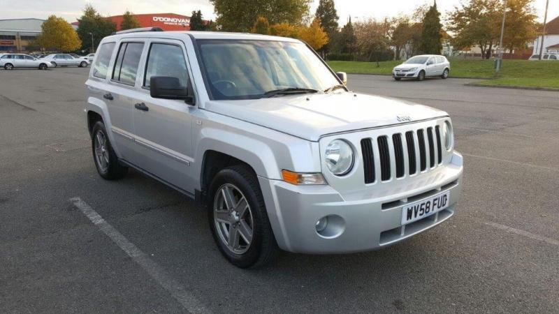 2008 jeep patriot 2 4 limited station wagon 4x4 5dr in. Black Bedroom Furniture Sets. Home Design Ideas