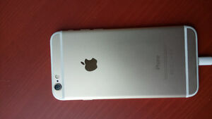 Excellent condition iPhone 6 Gold, 16GB and unlocked!