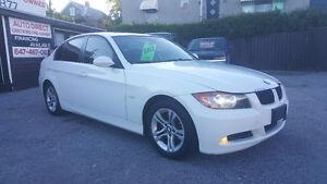 2009 BMW 328 XI *** WHITE on BLACK *** CERTIFIED $9995