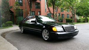 Mercedes Benz S500 Long W140 Brabus Package
