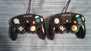 Manettes Nintendo GameCube Controllers(officiel/official) X 2