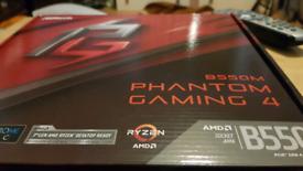 B550M Motherboard - ASROCK Phantom Gaming AM4
