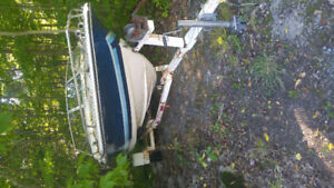 17' Boat and Trailer