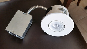 """Luxway Complete 4"""" LED Recessed Spot Light Fixtures"""