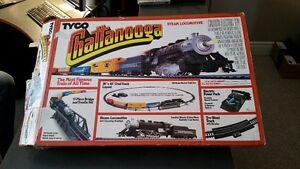 Vintage 1988 Tyco Chattanooga Train Set