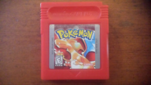Pokemon red for gameboy