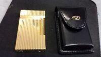 ST Dupont Gold Vertical Lines Line 2 Lighter #16827