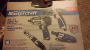 Mastercraft air tool set