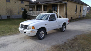 2001 Ford Ranger Edge, Only 125,000 km