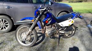 2007 Suzuki DR650SE Dualsport Motorcycle