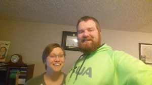 WANTED - 2 BR Suite/Apt for couple on July 1st
