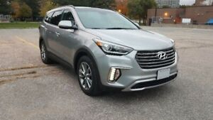2017 HYUNDAI SANTA FE XL LUXURY AWD LOADED 7 PASSENGER